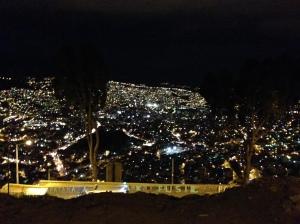 la paz view from el alto