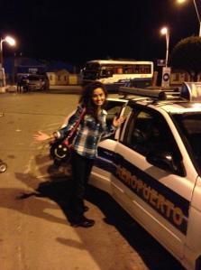 La Paz landing airport cab