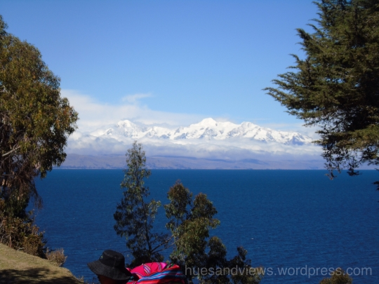Isla de Sol, Sun Island, view of Lake Titicaca