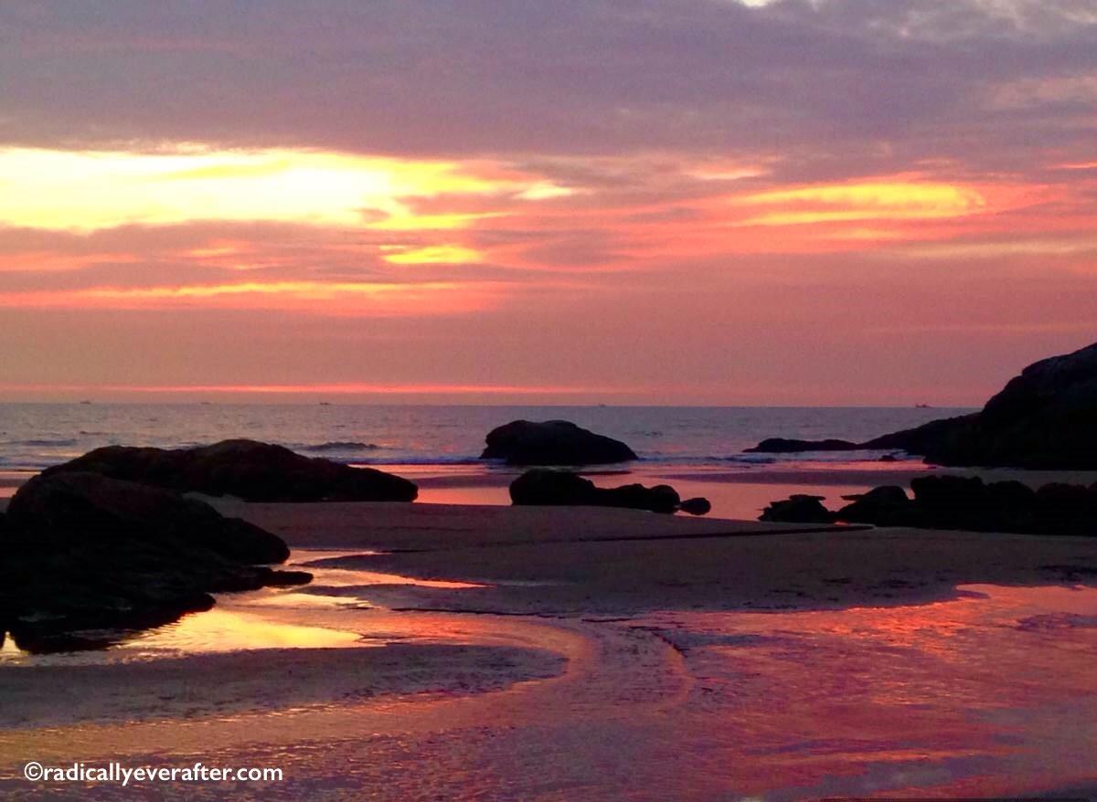 Gokarna, Karnataka, Kudle Beach